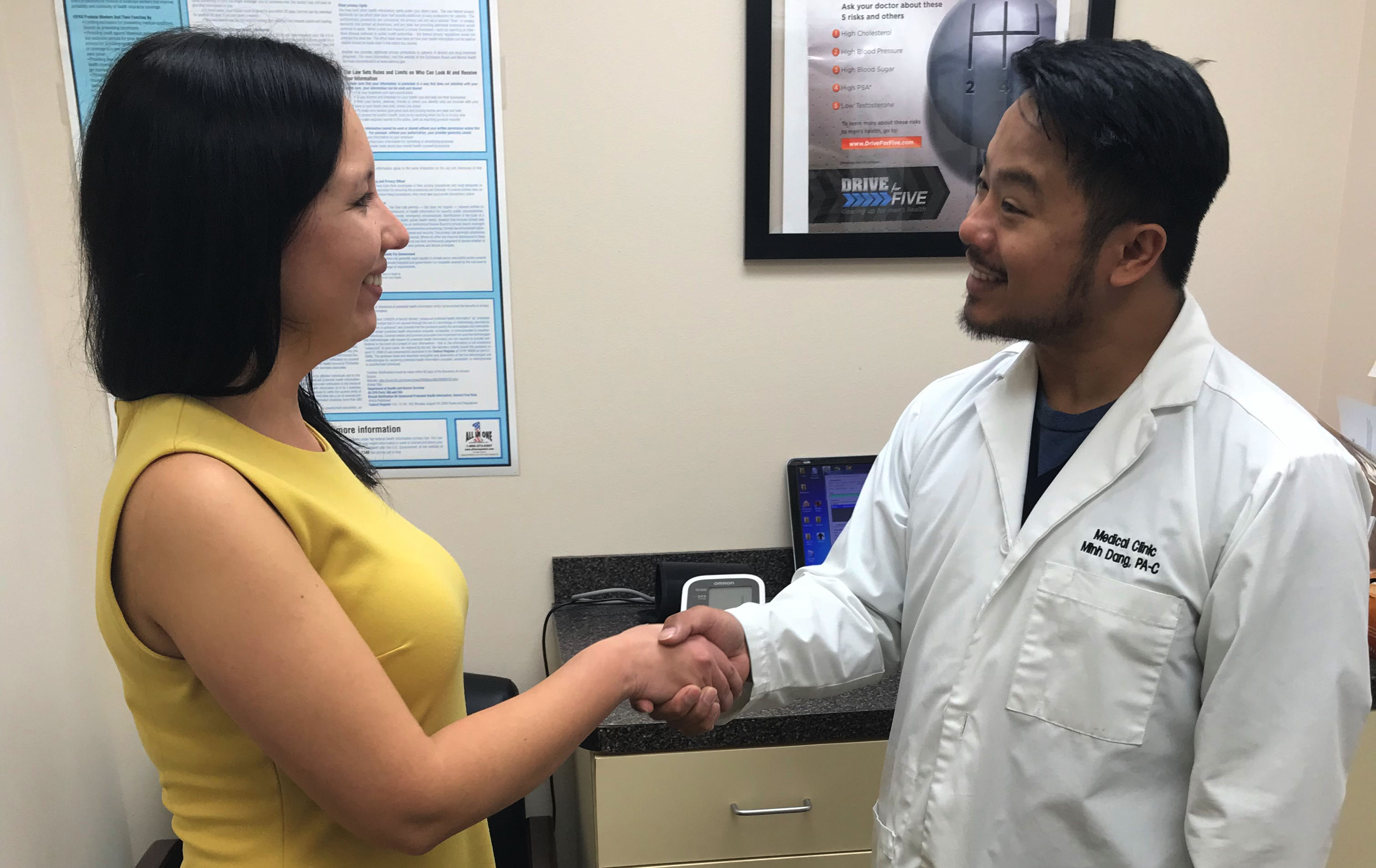 Minh Dang, PA is a board certified physician assistant in Orlando, Florida.